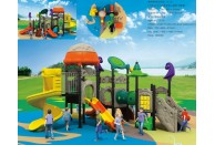 Kids Outdoor Play Gym