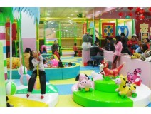 Can indoor playground be a companion for children in New Years E