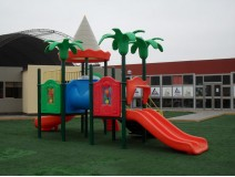 Do children need to wear outdoor playground uniforms while playi