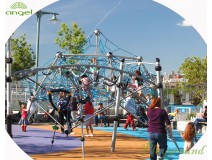 Does playing at outdoor play structure helps children learn about life?