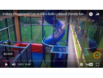 Indoor Playground Fun at Bill and Bulls Lekland