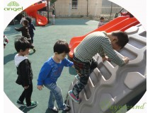 Instruction of Children outdoor play equipment