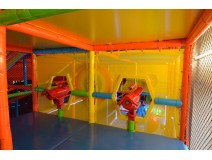 Kids play at Indoors playground equipment