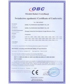 OBC, CE Playground Equipment