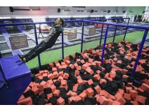 One day off for trampoline park exceise
