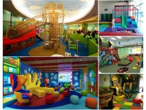 What roles does indoor play structure play in children's playing