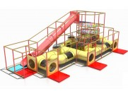 Indoor Play Equipment to Latvia for City Kids SIA