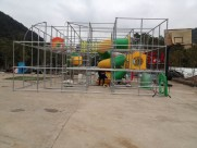 Indoor playground equipment in Spain