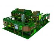 jungle Theme indoor jungle gym for clients in Latvia