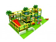 Small kids indoor playground equipment for client in Romania