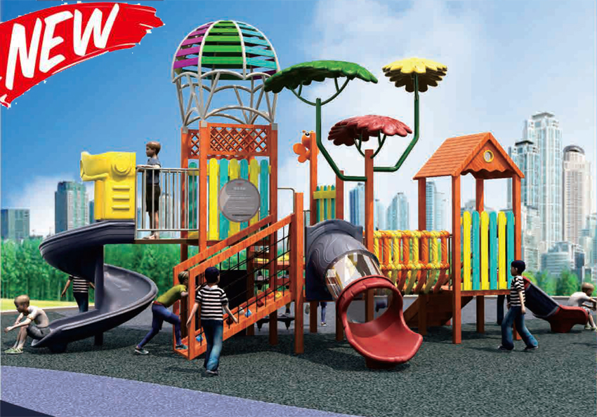 Non-Standard Outdoor Playground