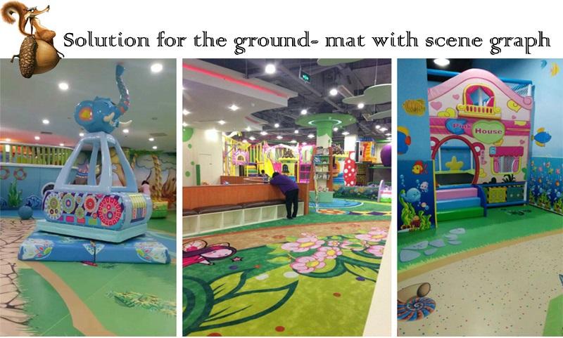 flooring for indoor playground equipment
