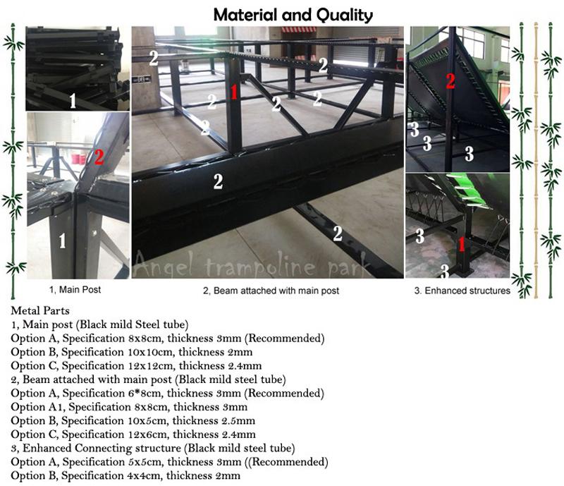 kids indoor trampoline - quality 7-1