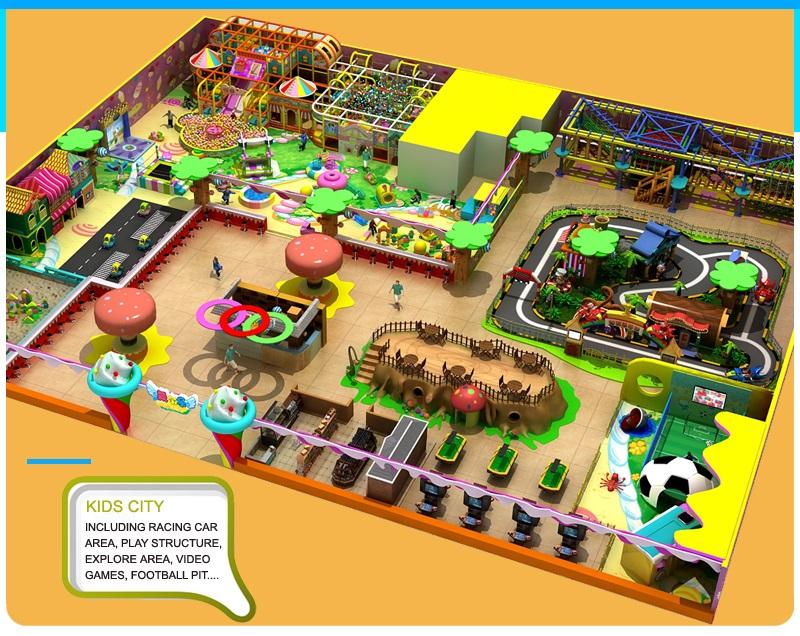 Playground Sets for Sale|Kids Indoor Playground for Supermarket