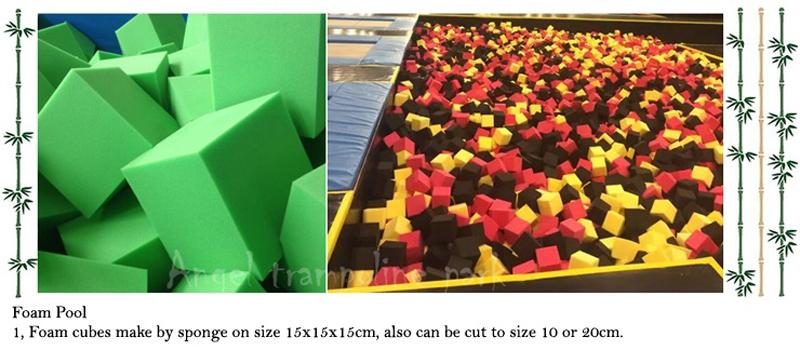 big air trampoline - material 7-5