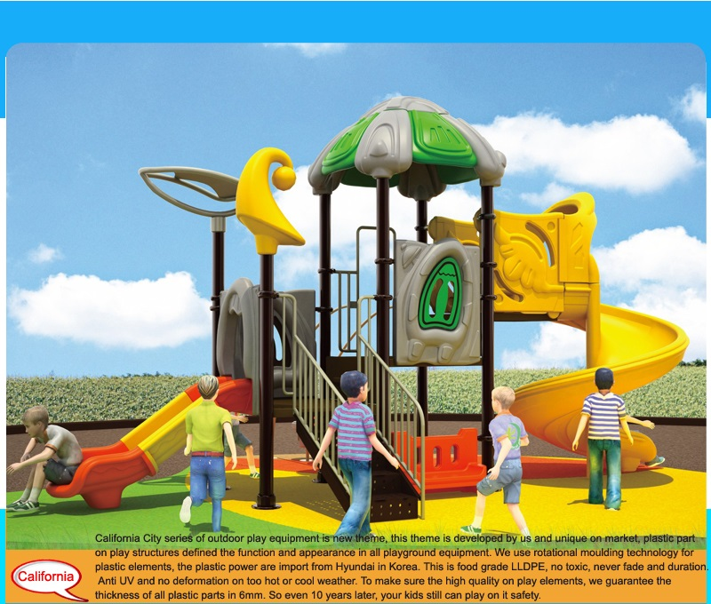 used outdoor playground