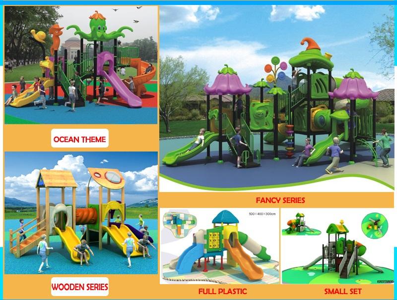 Plastic playground supplier