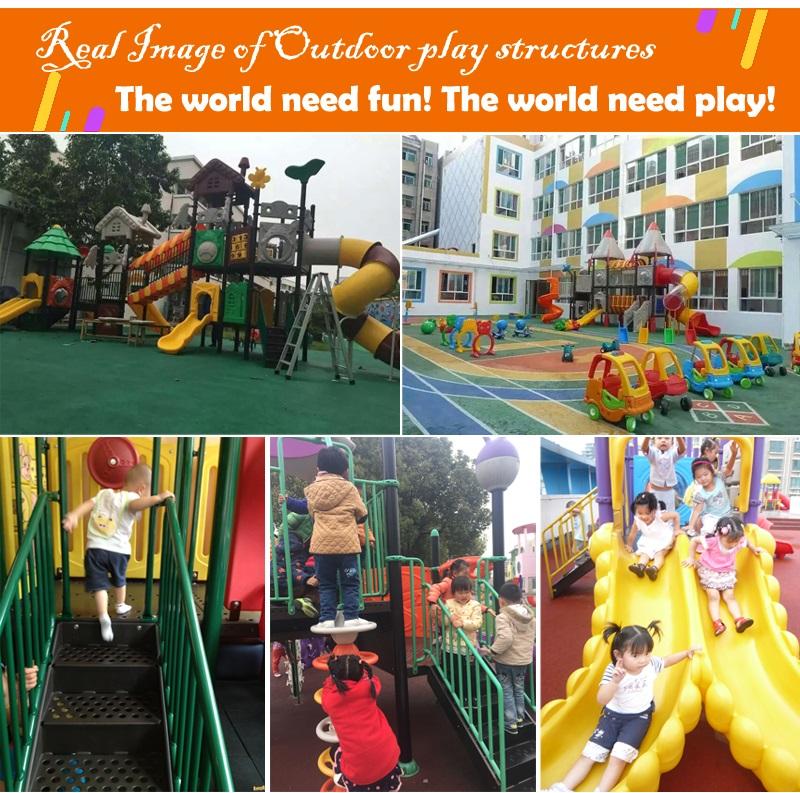 big outdoor playground