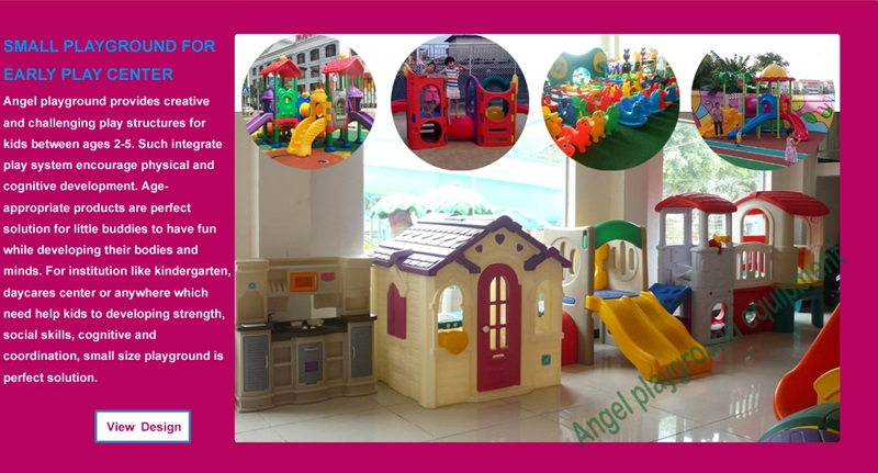 Baby playground factory
