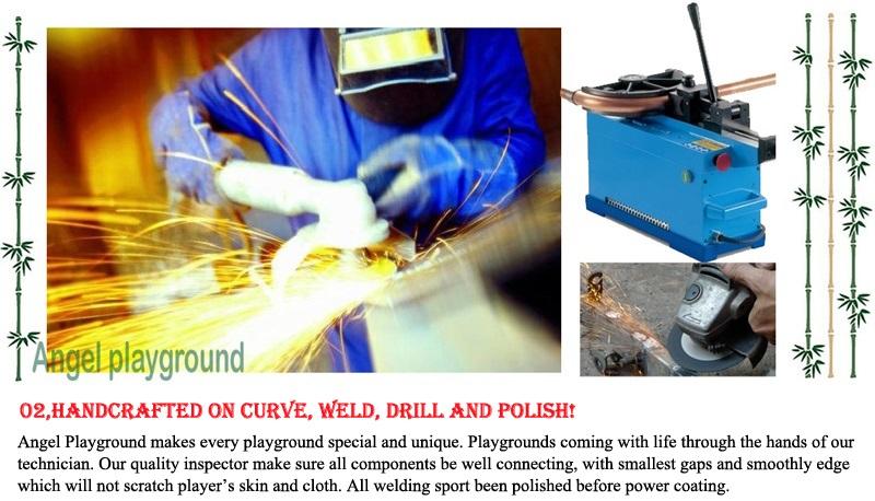 Playground Equipment - material