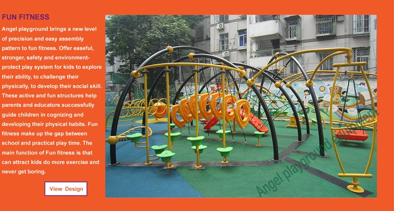 outdoors playground manufacture