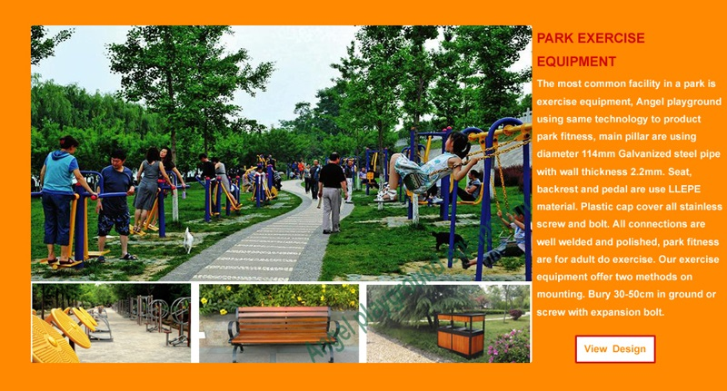 Commercial playground manufacture