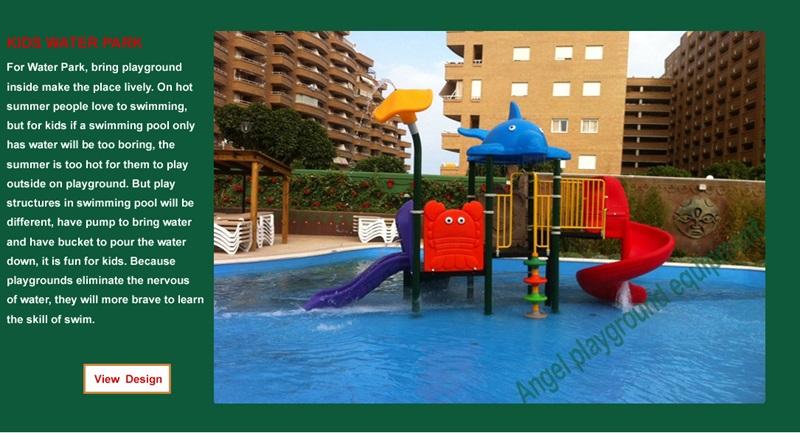 Children playground manufacture