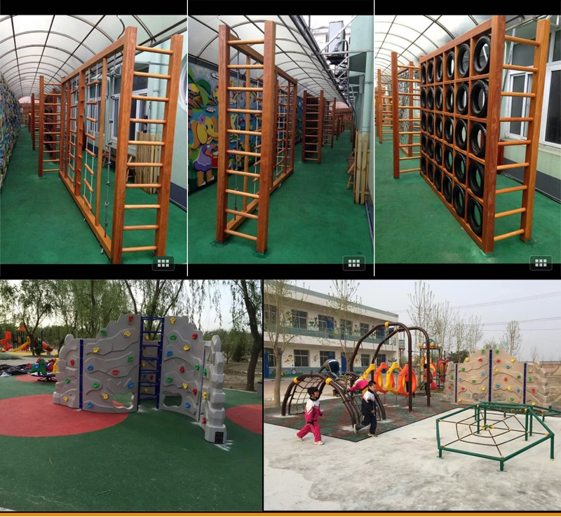 Outdoor play manufacture