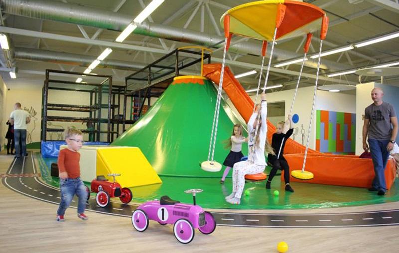 Volcano Slide for indoor playgrounds