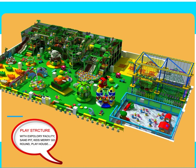 why choose our indoor playground equipment