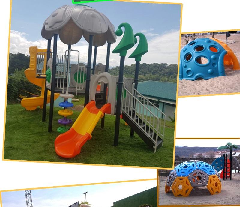 kids outdoors playground