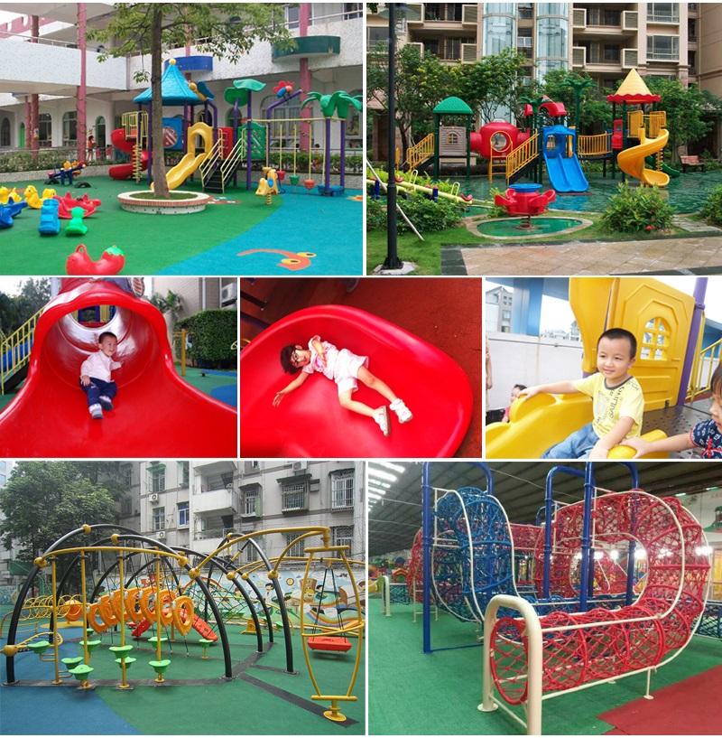 outdoor slide