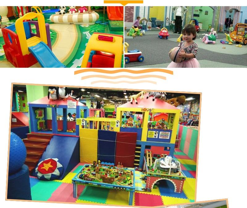 inside playground