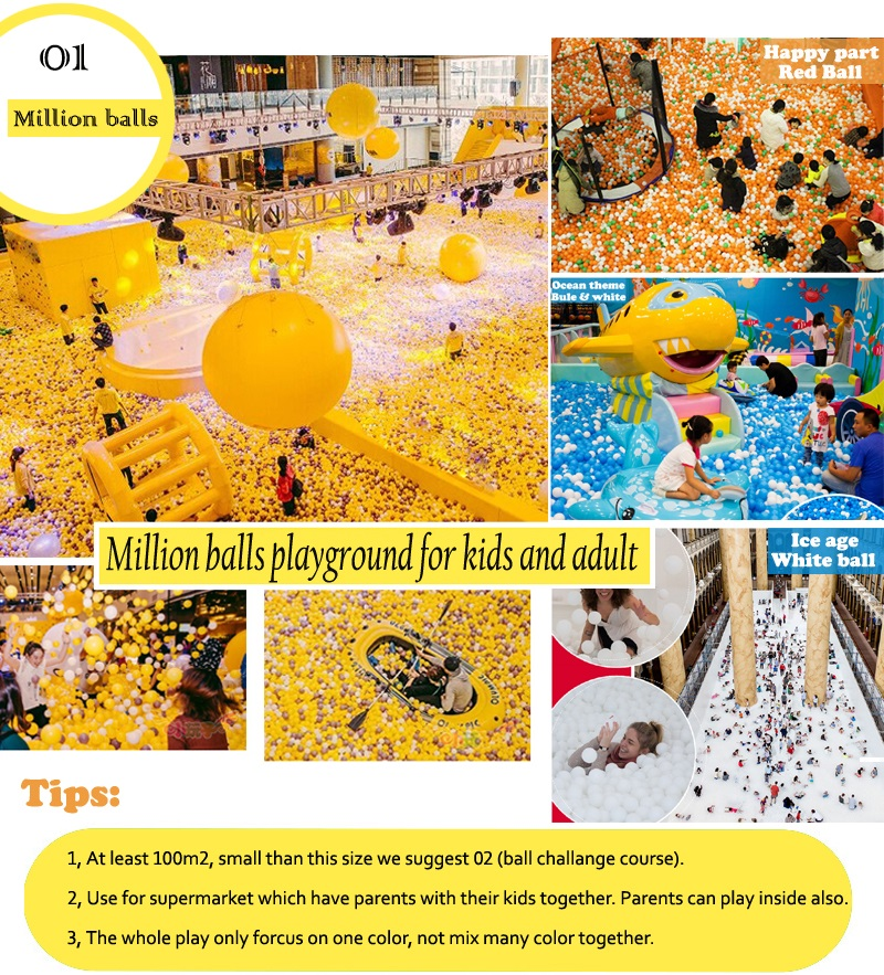 million balls of indoor playground equipment