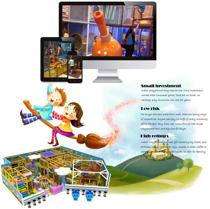why buy indoor playground equipment from us