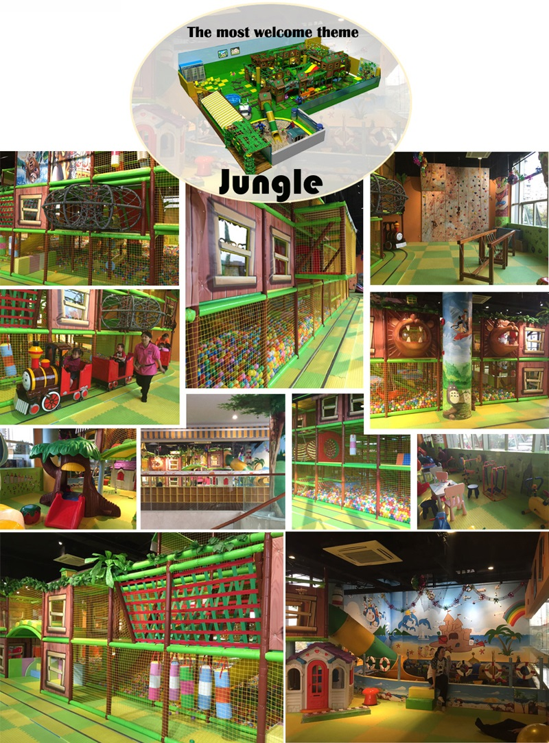 jungle theme indoor play equipment