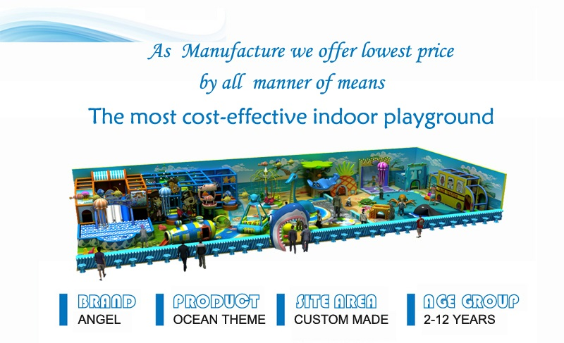 ocean theme indoor play equipment