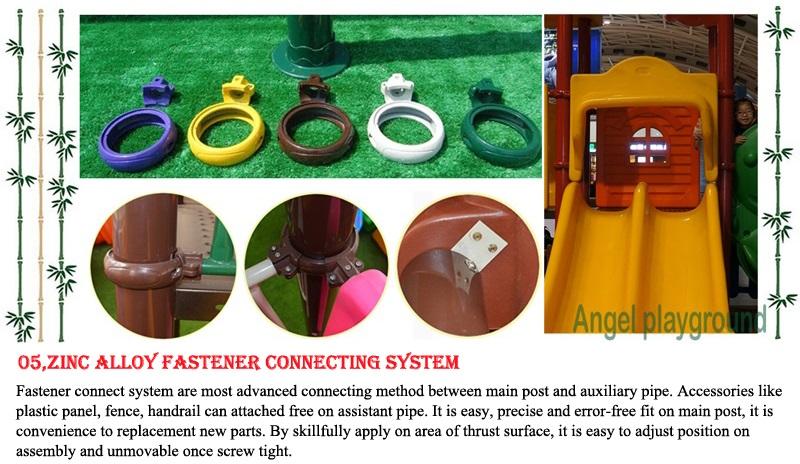 fastener for backyard playground