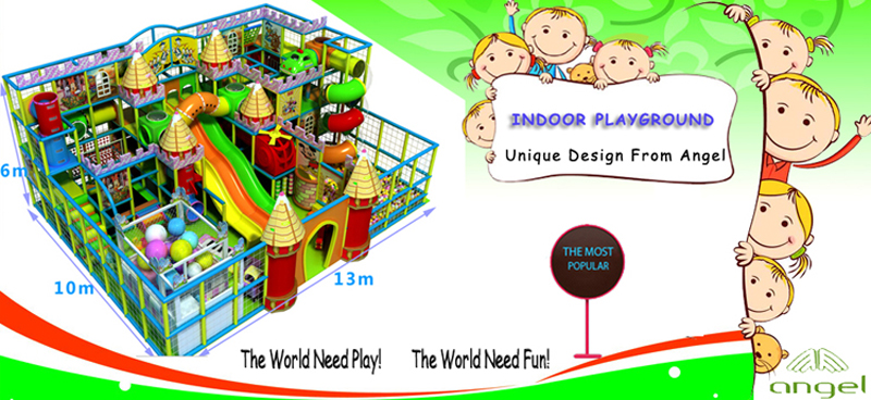 main product - indoor playgrounds