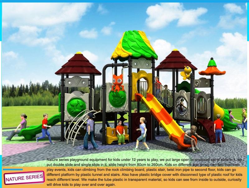 Kids Outdoor Playground Equipment