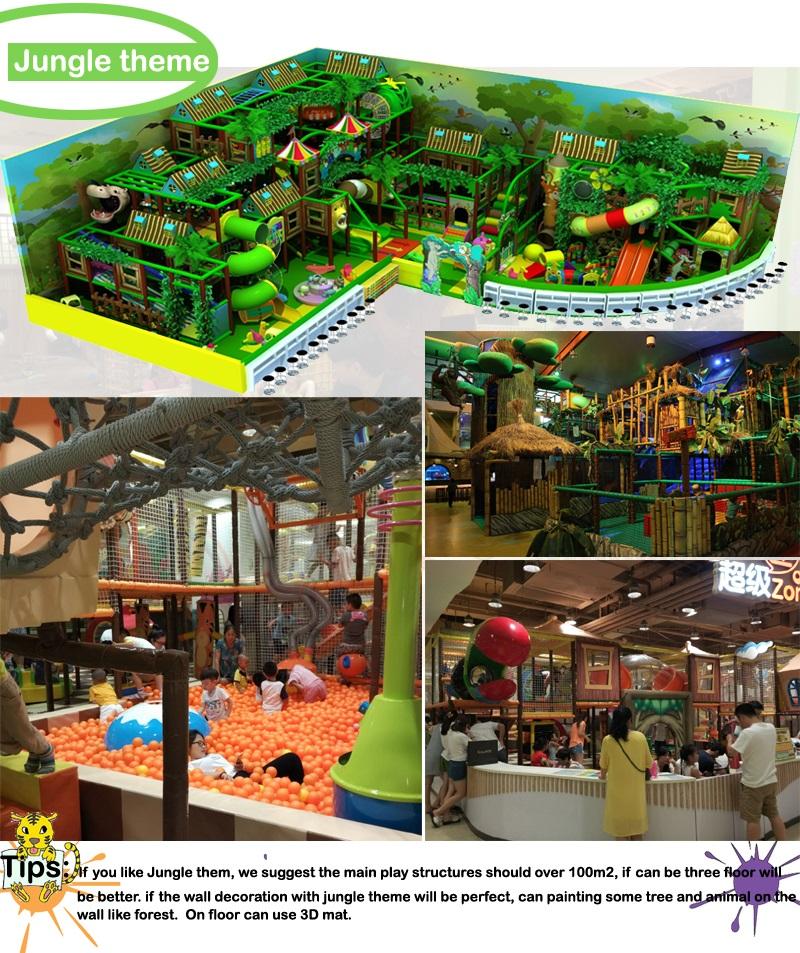 indoor playgrounds equipment