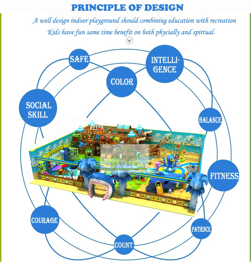 design for children indoor playground