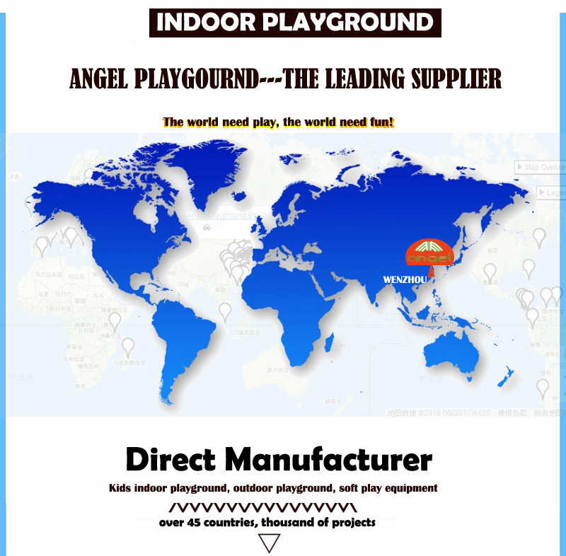 Angel playground, sales to USA, CA, Europe...
