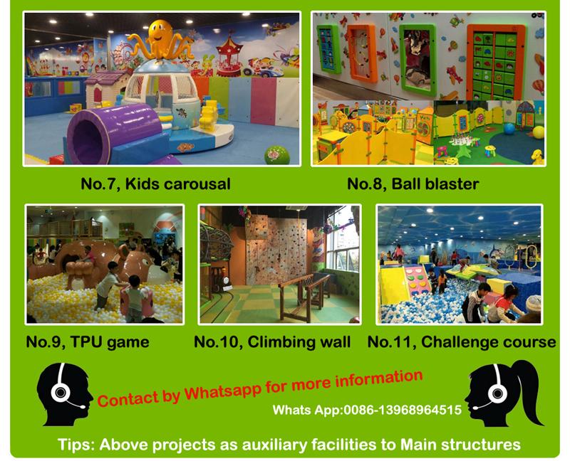 Playground equipment factory