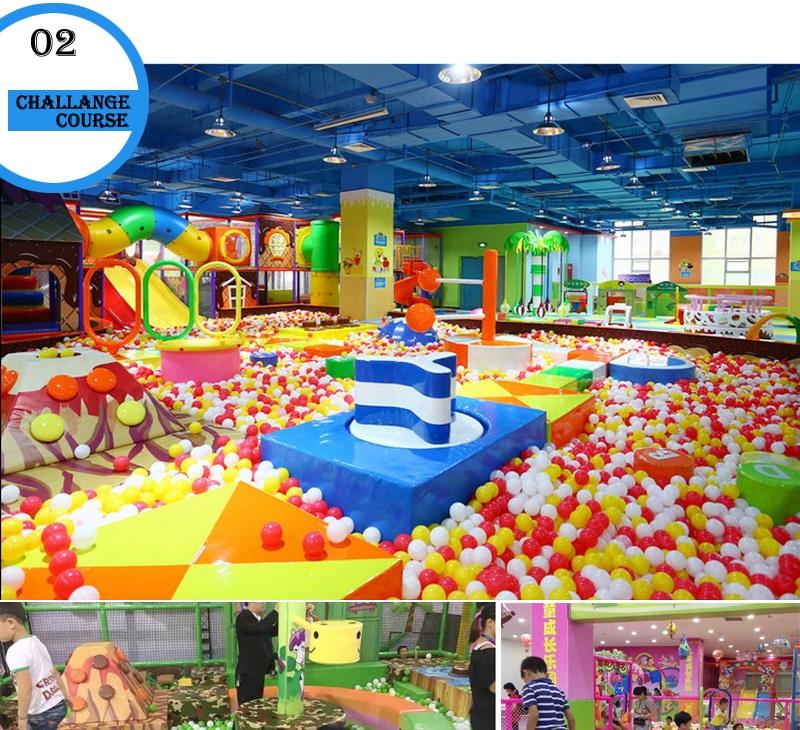 Indoors playground factory
