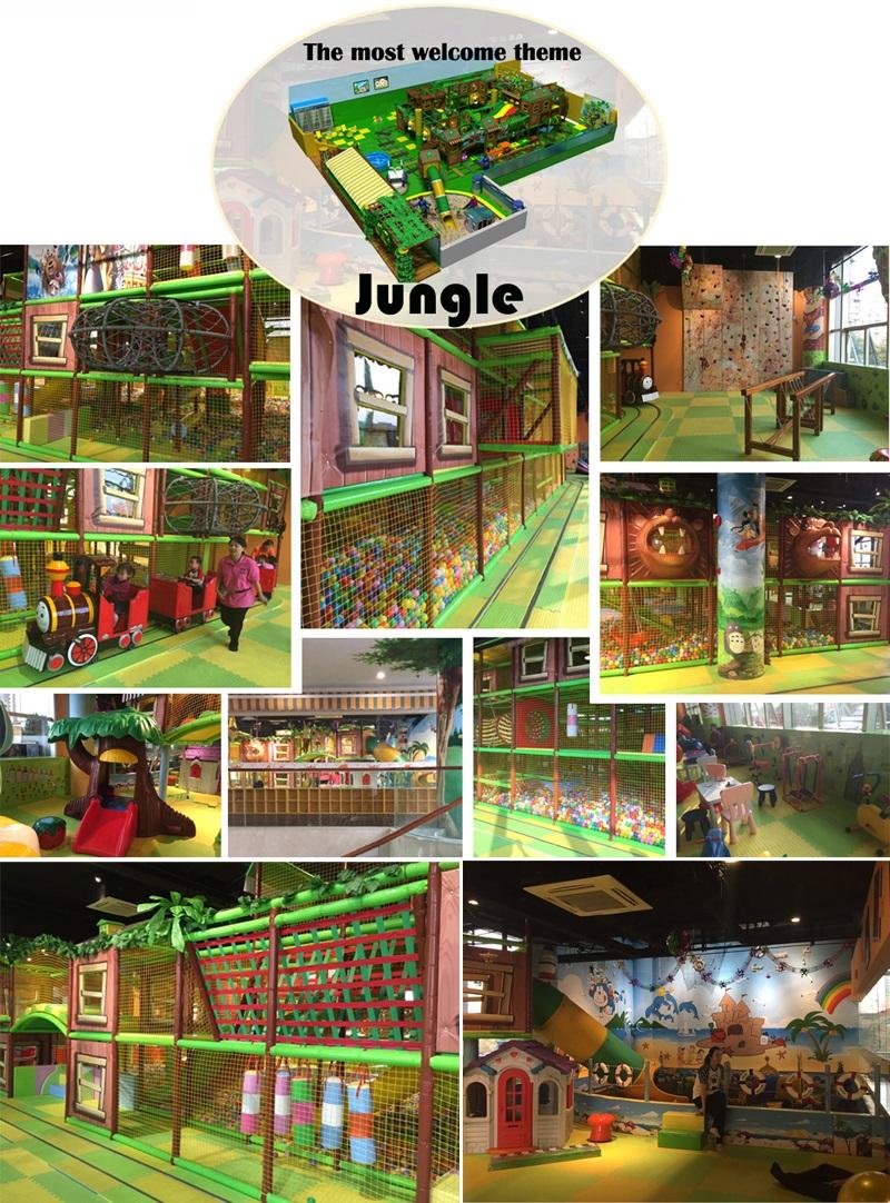 jungle theme - indoor kids playground