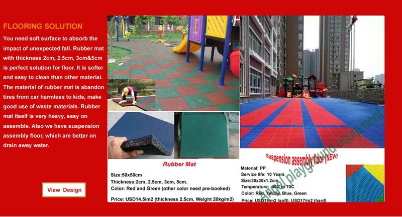 playgrounds importados
