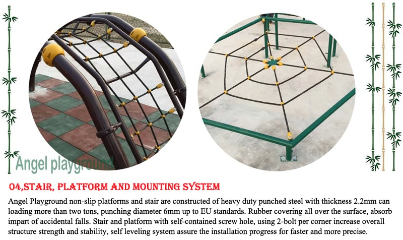 quality and material for play structures