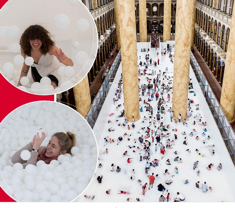 indoor play equipment - million balls