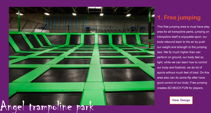 biggest trampoline in the world